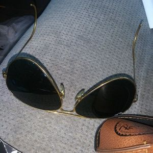 Raybans outsoors